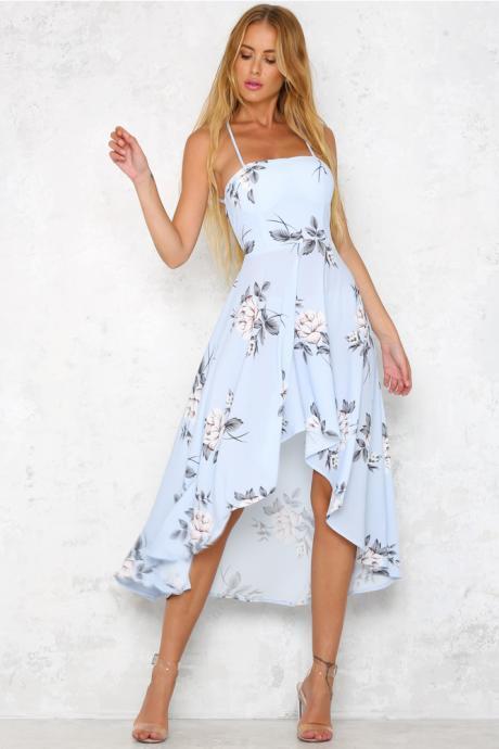 Tumbleweed Maxi Dress Sky Blue LLM3042