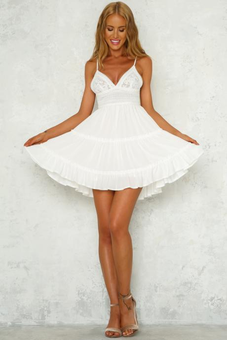 Standing Waiting Dress White LLM3056